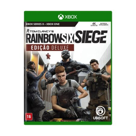 Jogo Tom Clancy's Rainbow Six Siege (Edição Deluxe) - Xbox