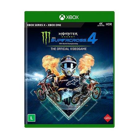 Jogo Monster Energy Supercross - The Official Videogame 4 - Xbox