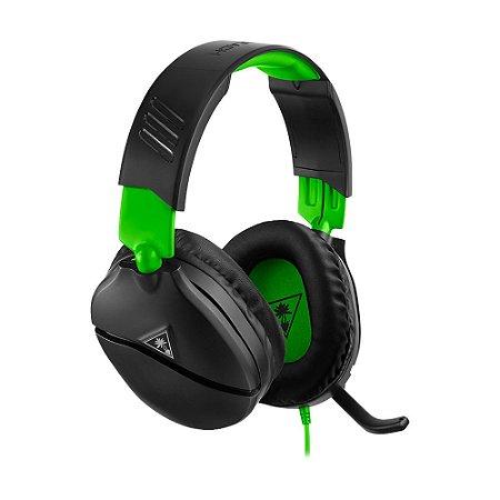 Headset Gamer Turtle Beach Recon 70X Preto com fio - Multiplataforma