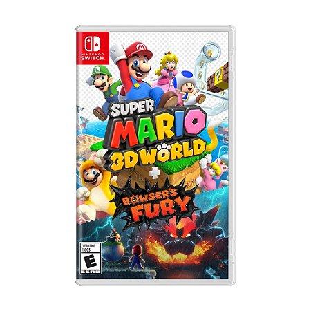 Jogo Super Mario 3D World + Bowser's Fury - Switch