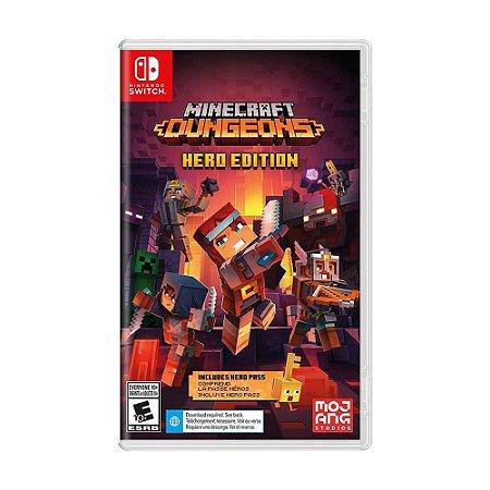 Jogo Minecraft Dungeons (Hero Edition) - Switch