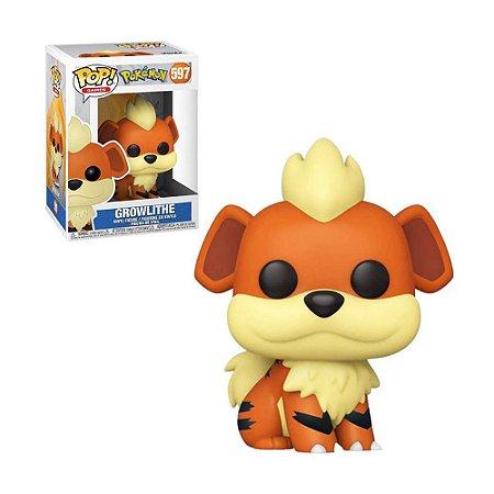 Boneco Growlithe 597 Pokémon - Funko Pop!