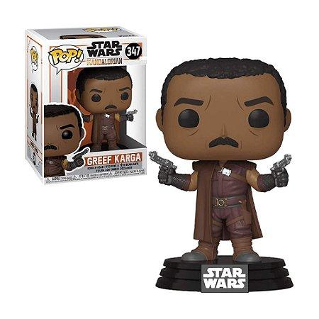 Boneco Greef Karga 347 Star Wars The Mandalorian - Funko Pop!