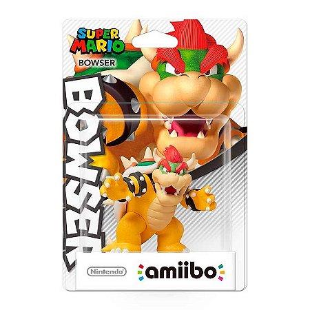 Nintendo Amiibo: Bowser - Super Mario - Wii U e New Nintendo 3DS