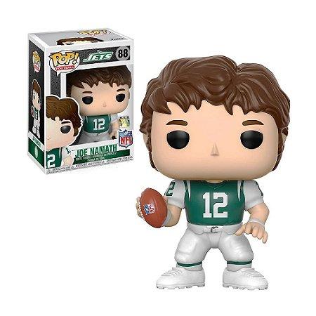 Boneco Joe Namath 88 Jets NFL - Funko Pop!