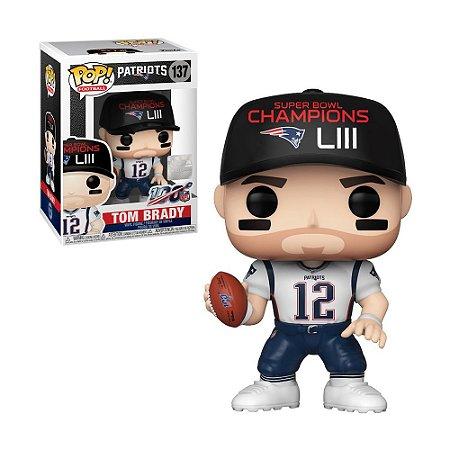 Boneco Tom Brady 137 Patriots NFL- Funko Pop!