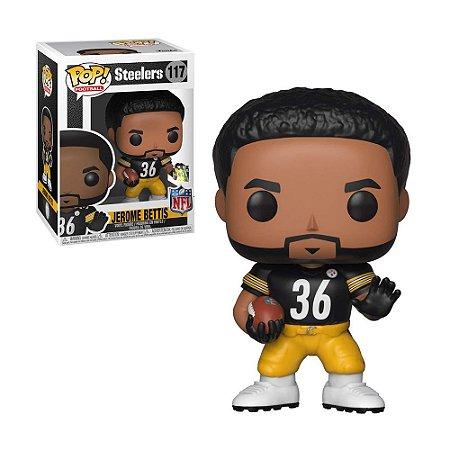 Boneco Jerome Bettis 117 Steelers NFL - Funko Pop!