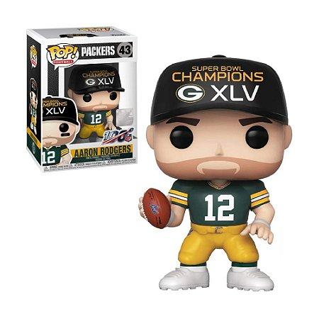 Boneco Aaron Rodgers 43 Packers NFL - Funko Pop!