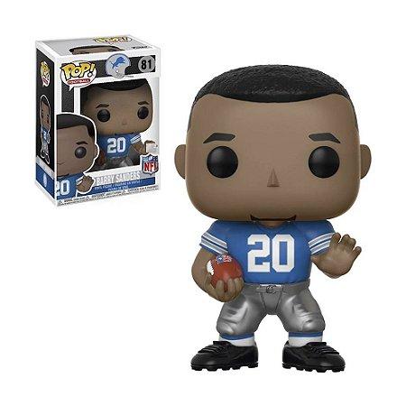 Boneco Barry Sanders 81 Lions NFL - Funko Pop!