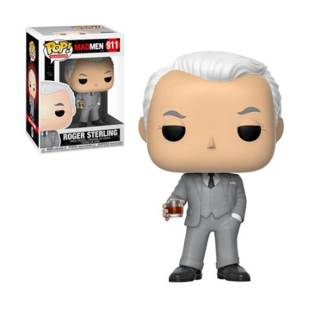 Boneco Roger Sterling 911 Mad Men - Funko Pop!