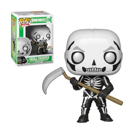 Boneco Skull Trooper 438 Fortnite - Funko Pop!