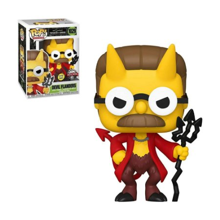 Boneco Devil Flanders 1029 The Simpsons Treehouse Of Horror (Special Edition) - Funko Pop!