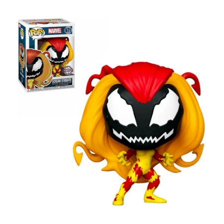 Boneco Scream Symbiote 671 Marvel (Special Edition) - Funko Pop!