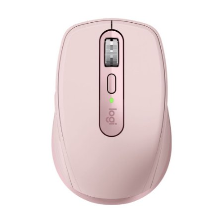 Mouse Logitech MX Anywhere 3 Rosa 4000 DPI sem fio