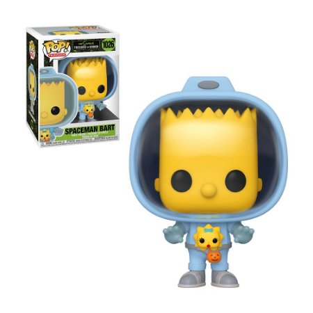 Boneco Spaceman Bart 1026 The Simpsons Treehouse Of Horror - Funko Pop!