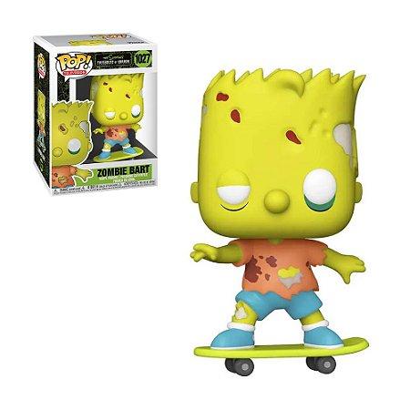 Boneco Zombie Bart 1027 The Simpons Treehouse Of Horror - Funko Pop!