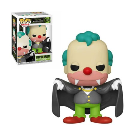 Boneco Vampire Krusty 1030 The Simpsons Treehouse Of Horror - Funko Pop!