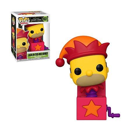 Boneco Jack-In-The-Box Homer 1031 The Simpsons Treehouse Of Horror - Funko Pop!