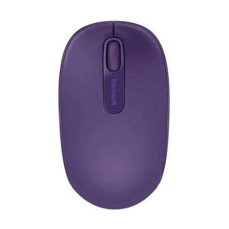 Mouse Microsoft Wireless Mobile 1850 Roxo 1000 DPI sem fio