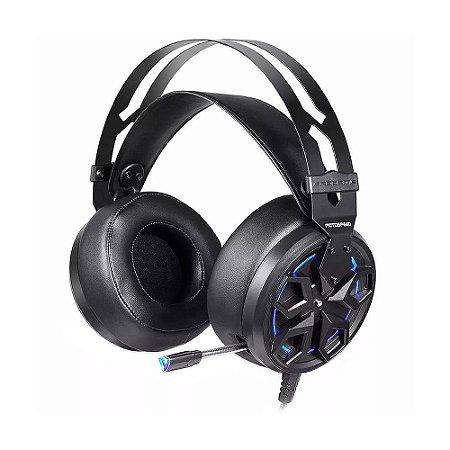Headset Gamer Motospeed H60 7.1 Led Azul com fio - PC e PS4