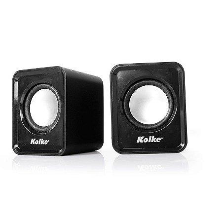 Caixas de Som Kolke KP-118 USB