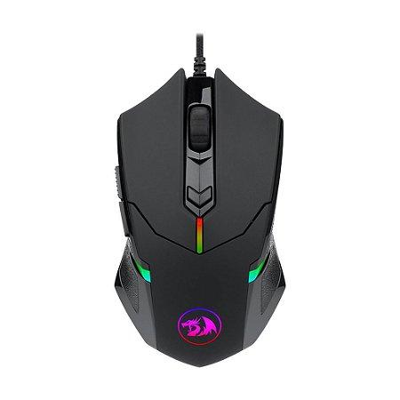 Mouse Gamer Redragon Centrophorus 2 M601-RGB RGB 7200 DPI com fio