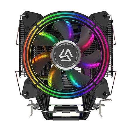 Cooler para Processador Alseye H120D V2 PWM RGB