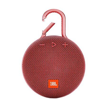 Caixa de Som JBL Clip 3 Vermelha Bluetooth