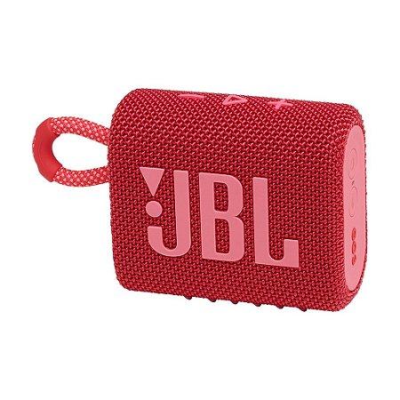 Caixa de Som JBL Go 3 Vermelha Bluetooth