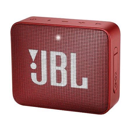 Caixa de Som JBL Go 2 Vermelha Bluetooth