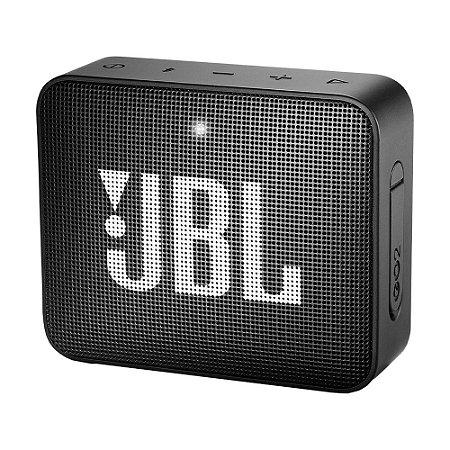 Caixa de Som JBL Go 2 Preto Bluetooth
