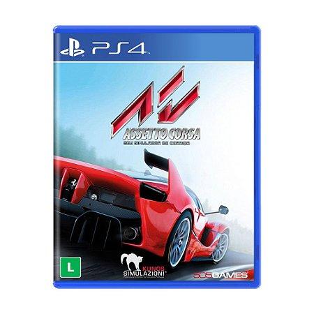 Jogo Assetto Corsa - PS4
