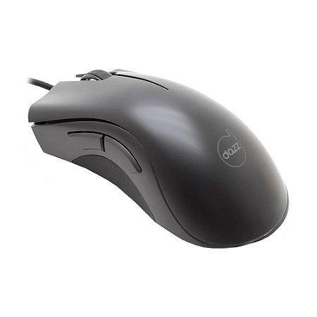 Mouse Gamer Dazz Axon 3200 DPI RGB com fio