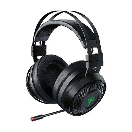 Headset Gamer Razer Nari Ultimate Wireless 7.1 sem fio - Multiplataforma