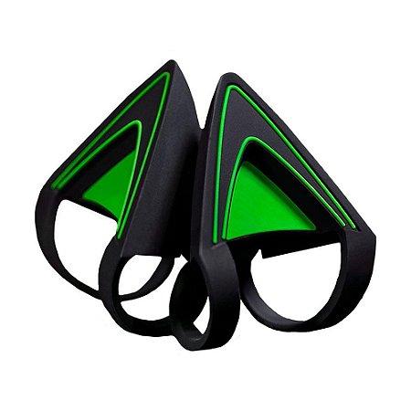 Razer Kitty Ears Kraken Verde