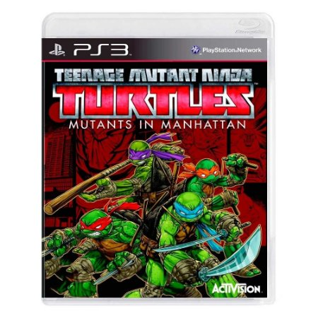 Jogo Teenage Mutant Ninja Turtles: Mutants in Manhattan - PS3