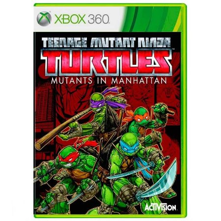 Jogo Teenage Mutant Ninja Turtles: Mutants in Manhattan - Xbox 360