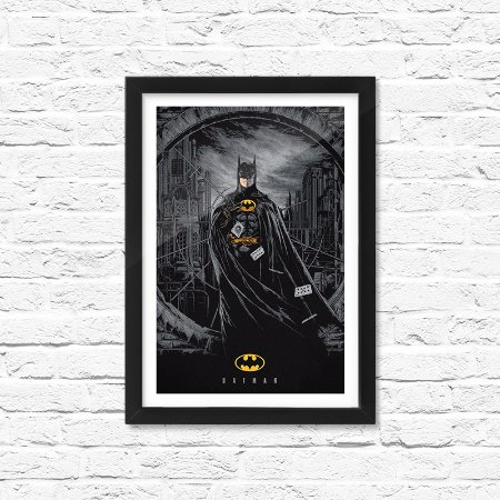 Pôster Emoldurado ShopB Batman - Modelo 3