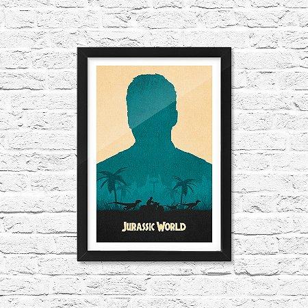 Pôster Emoldurado ShopB Jurassic World