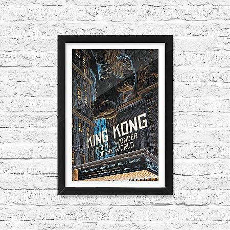 Pôster Emoldurado ShopB King Kong - Modelo 2