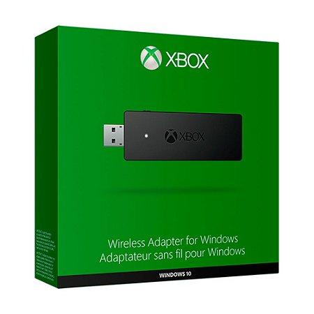Adaptador sem fio para Windows - Xbox One