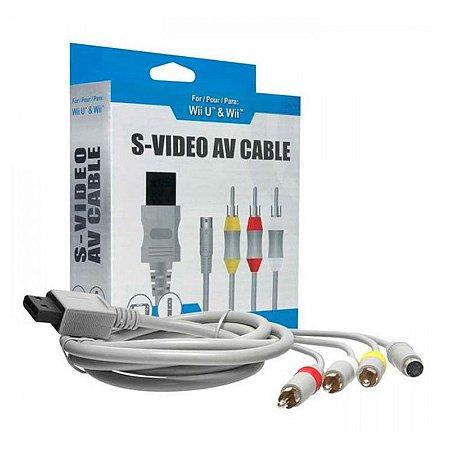 Cabo AV Tomee S-Video - Wii e Wii U