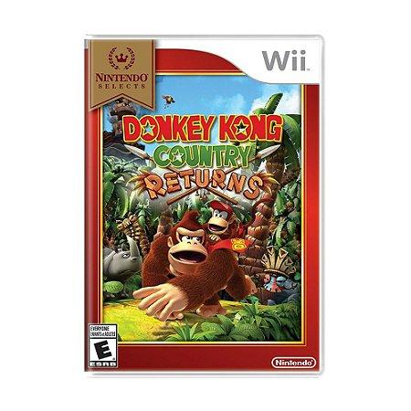 Jogo Donkey Kong Country Returns - Wii