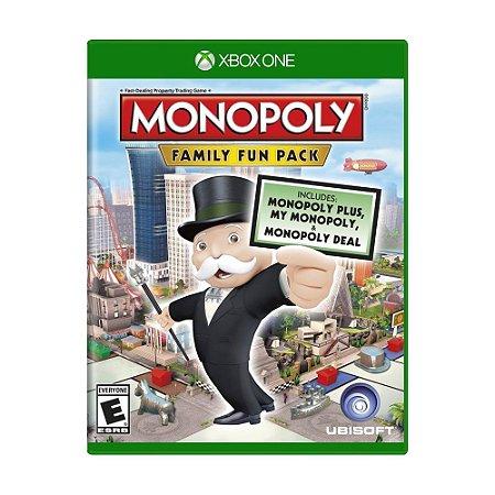Jogo Monopoly: Family Fun Pack - Xbox One