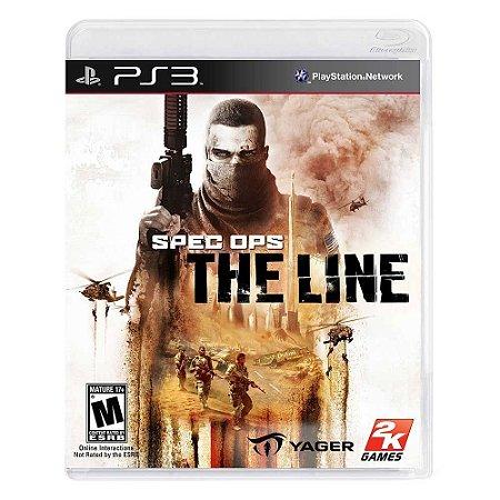 Jogo Spec Ops: The Line - PS3