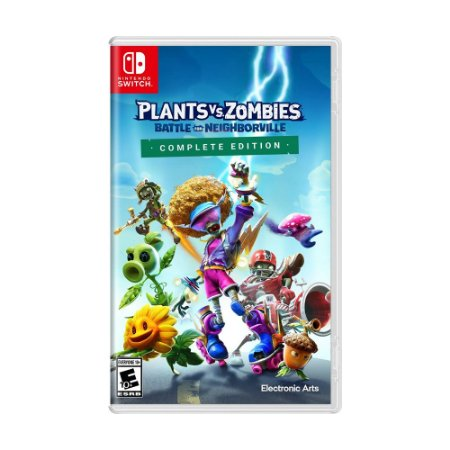 Jogo Plants vs. Zombies: Battle for Neighborville (Complete Edition) - Switch