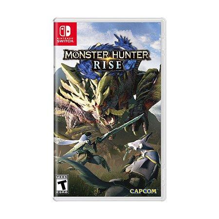 Jogo Monster Hunter Rise - Switch