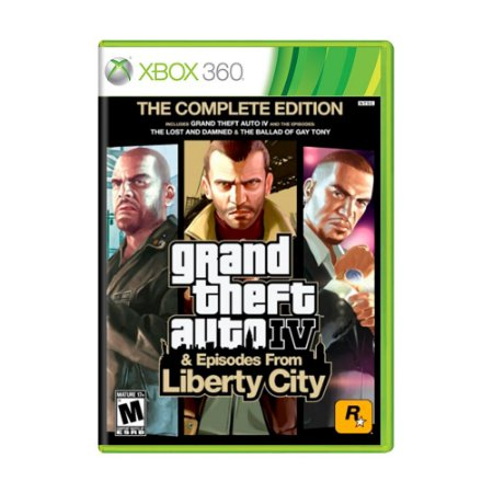 Jogo Grand Theft Auto IV (The Complete Edition) - Xbox 360