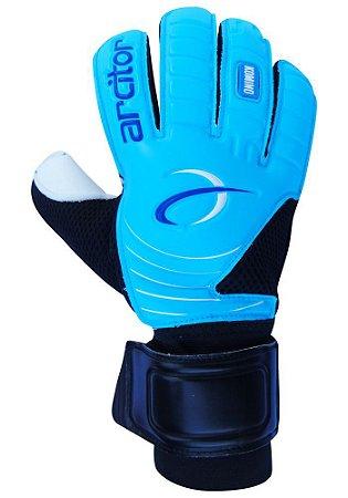 Luvas de Goleiro Arcitor Komino Flat (Azul Preto) D-SOFT