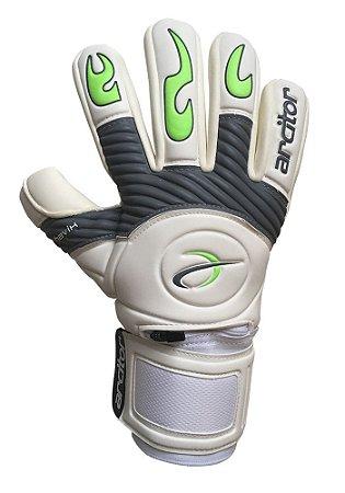 Luvas de Goleiro Arcitor Havik Negative Finger Protection (Branco Cinza Verde) Extended XW Elite